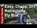 Retractable Fly Box or Fly Storage System - is the Best Fly Box DIY?