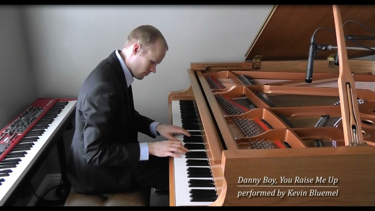Danny Boy / You Raise Me Up by Kevin Bluemel (solo piano)