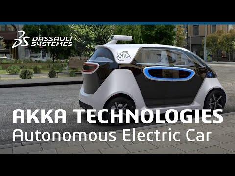 AKKA Technologies - Autonomous Electric Car - Dassault Systèmes