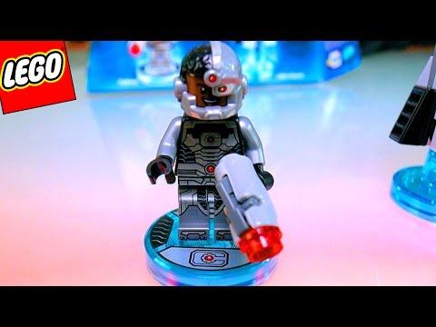 LEGO CIBORGUE BRINQUEDO DC COMICS | LEGO DIMENSIONS CYBORG FUN PACK