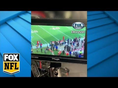 Jay Glazer Reveals Footage Of Patriots Filming Bengals | FOX SPORTS EXCLUSIVE | FOX NFL