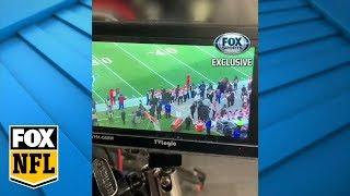 Jay Glazer reveals footage of Patriots filming Bengals | FOX SPORTS EXCLUSIVE | FOX NFL