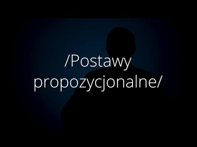 Postawy propozycjonalne | dr Bartosz Janik | ABC Humanistyki