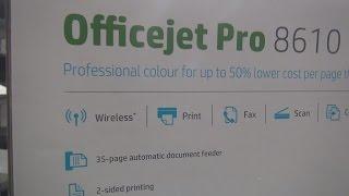 HP OfficeJet 8610 Pro Обзор. Установка