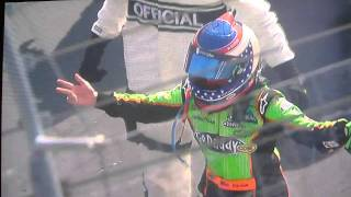 Danica Patrick Uncensored Bristol Crash 2011