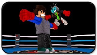 Tiny Guy Takes On Giant Titans - Roblox Boxing Simulator 2
