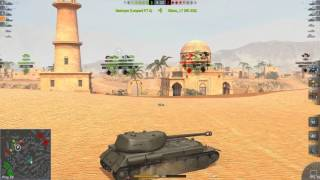 World Of Tanks Blitz Game Play (IS-2SH) (FHD)