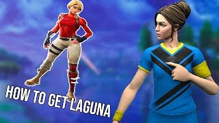 How To Get Laguna Skin in Fortnite! (HxD Tutorial)
