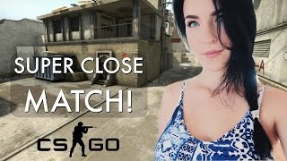 CLOSEST COMPETITIVE MATCH! (Counter-Strike: Global Offensive)