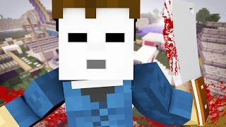 MICHAEL MYERS HORROR MINI-GAME! Minecraft Funny Killing Game!