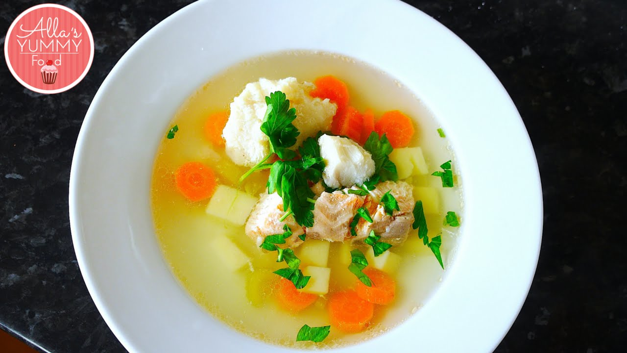 Ukha russian fish soup recipe p c for How to make fish soup