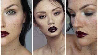 Glossy Eyes, Lips, and Skin | Editorial Inspired Makeup