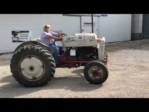 1957 8N Ford 800 2WD LP-GAS Tractor (Running As It Should, One Owner)