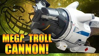 ULTIMATE TROLL CANNON! | A dude messing around with Tractor Cannon! | Destiny 2