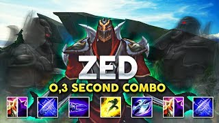 The Fastest Zed main in Euw ? TomFleec Zed montage - League of Legends