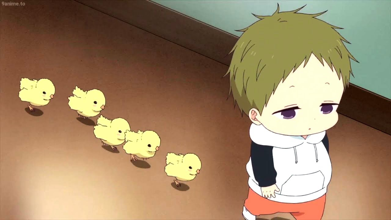 Kotaro and chicks/School babysitters the best character/  学園ベビーシッターズ