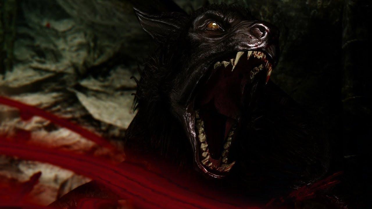 Skyrim - Werewolf Varg...