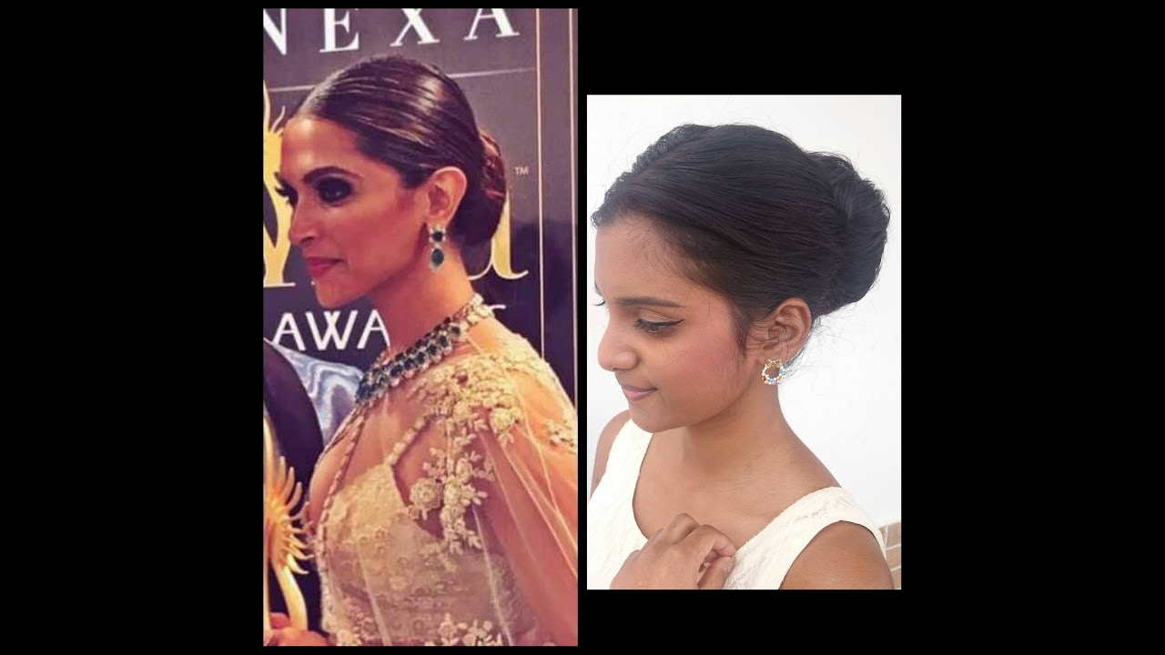 Hairstyle | Deepika Padukone IIFA 2016 Hairstyle Tutorial ...