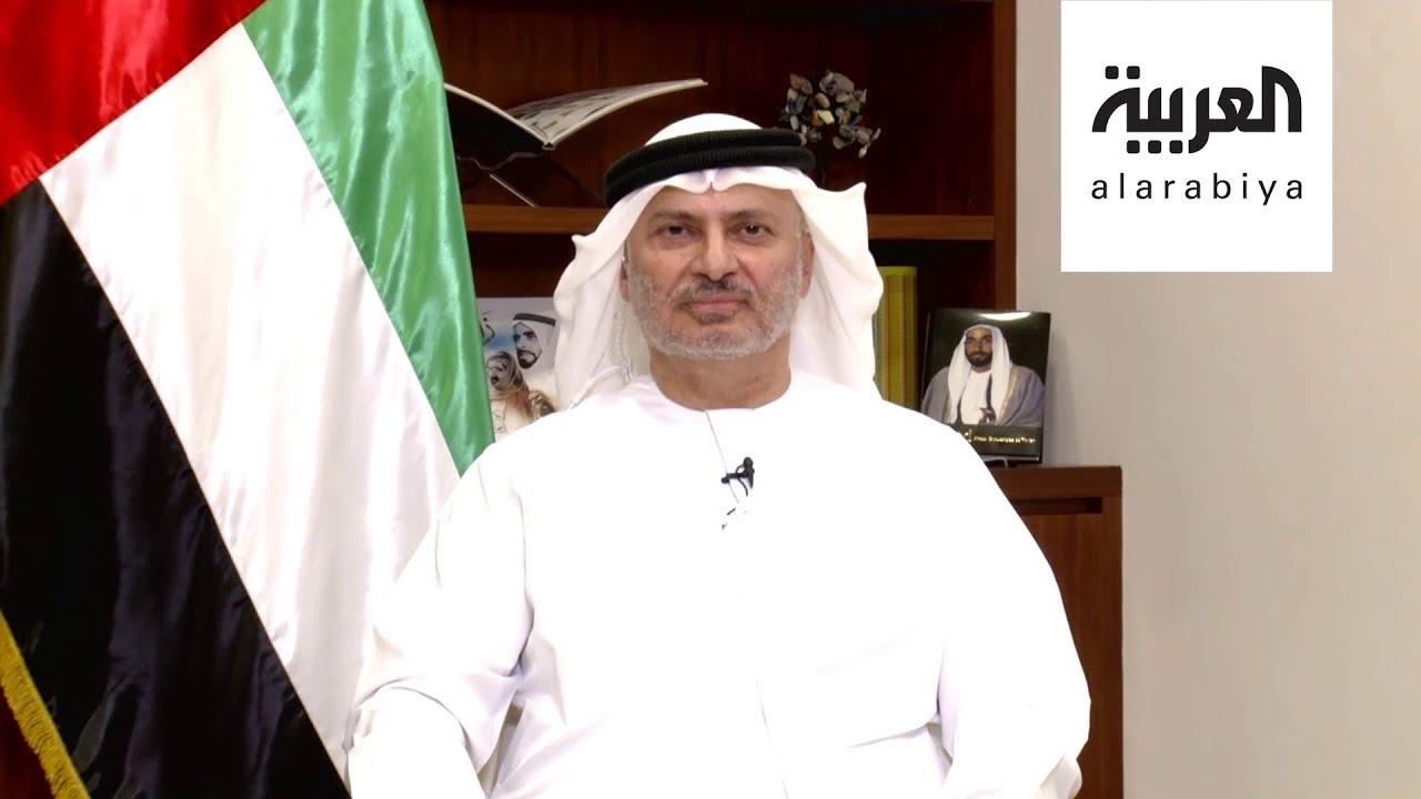 Photo of فيديو : قرقاش للعربية: الإمارات ليس لديها مشروع خاص في المنطقة