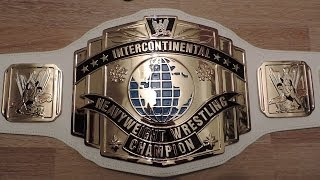 WWE INTERCONTINENTAL CHAMPIONSHIP Replica Belt REVIEW Titel Gürtel