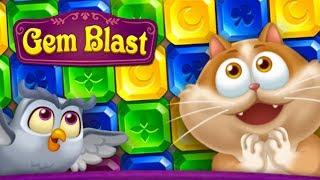 Gem Blast : Magic Match Puzzle Android Gameplay ᴴᴰ screenshot 2