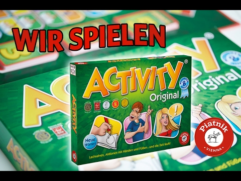 ACTIVITY - Erklärvideo & Regeln (DE) - Partyspiel, Piatnik