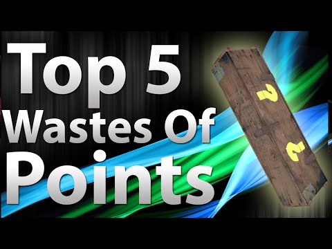 "Thumbnail: TOP 5 Wastes Of Points in ""Call of Duty Zombies"" - Black Ops 2 Zombies, Black Ops, & World at War"