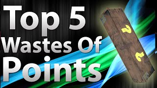TOP 5 Wastes Of Points in 'Call of Duty Zombies' - Black Ops 2 Zombies, Black Ops, & World at War