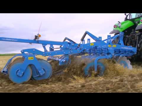 LEMKEN Rubin 12 Overload protection and spring elements | EN