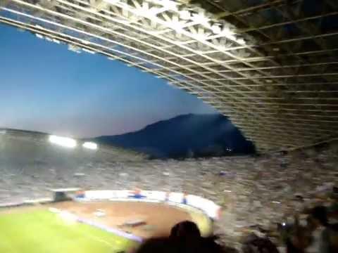 35,000 Croatians Sing DALMACIJO at STADION POLJUD (Hajduk Split vs. Inter Milan - August 2, 2012)