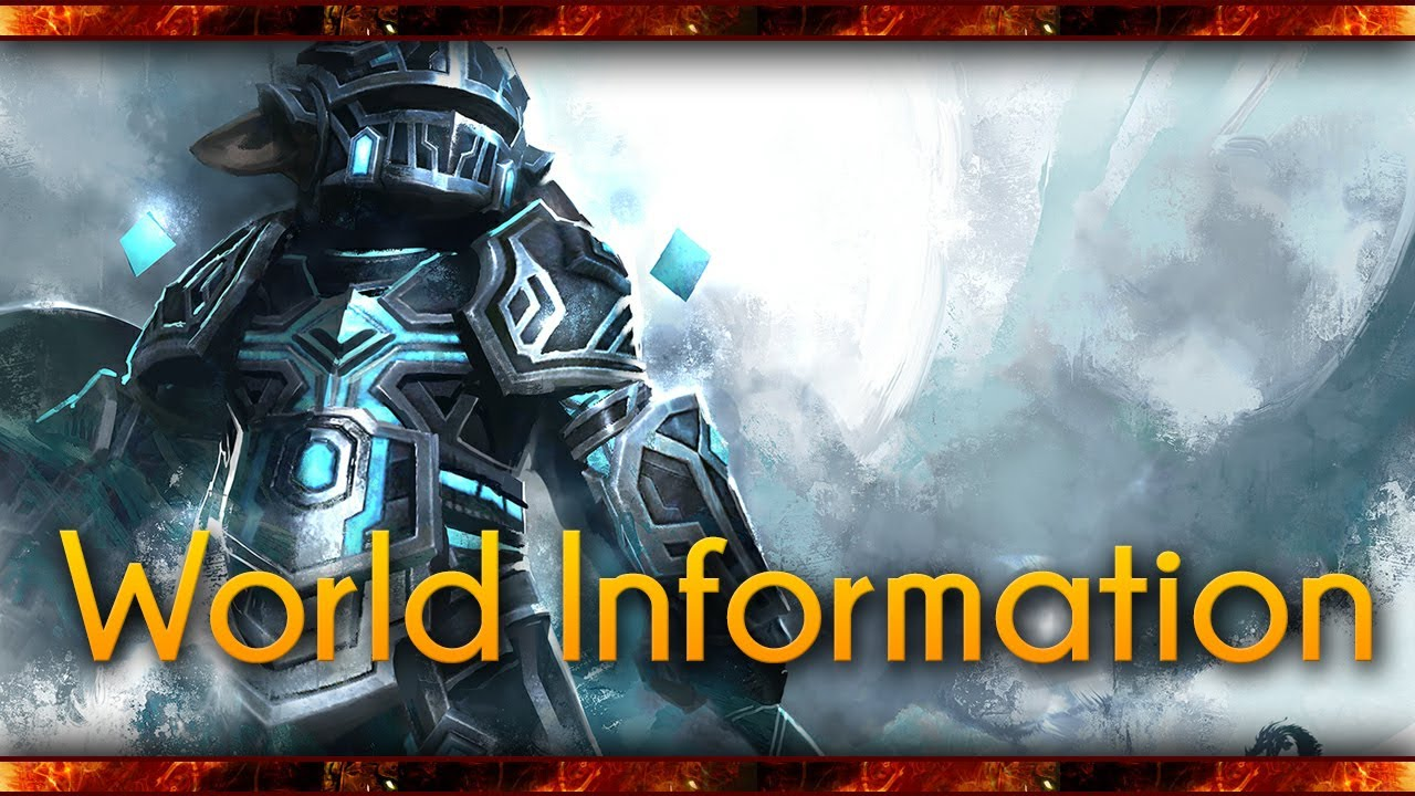 Guild Wars 2 - Choosing and transferring Worlds - What server or realm will  you play on?