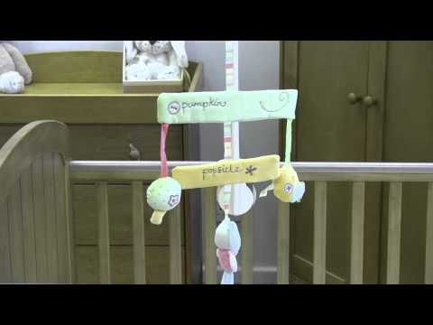 Pumpkin And Popsicle Cot Mobile