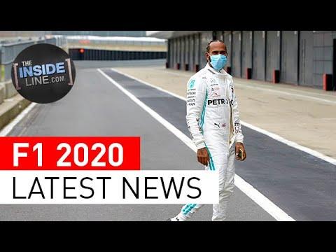 LATEST F1 NEWS: Hamilton And Mercedes, Red Bull At Silverstone, Ferrari, And More.