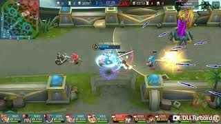 MOBILE LEGENDS GUSION GAMEPLAY 4 VS 5 STILL WIN THE GAME !!!😂