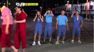 Running Man Hip Hop Lessons - Kim Jong Kook & Kang Gary [Ep 5]