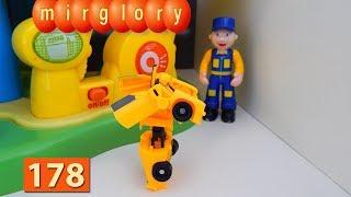 Трансформеры мультфильм Автосервис игрушки Город машинок 178 серия Мультики для детей видео