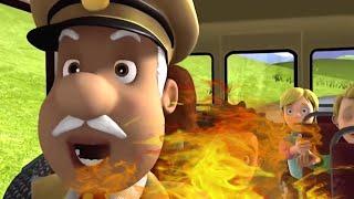 Feuer im Blumenbeet! 🔥Feuerwehrmann Sam ⭐️Neue Folgen | Zeichentrick für Kinder