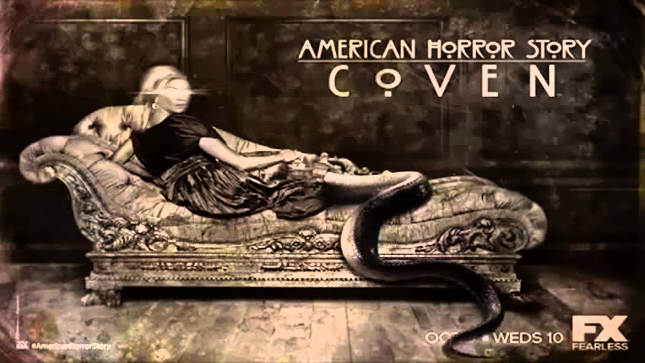 american horror story coven voodoo queen poster youtube