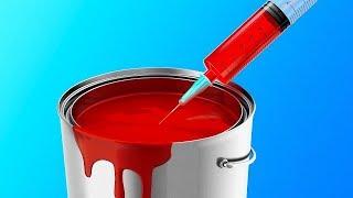 33가지 기발한 벽 페인트칠 아이디어