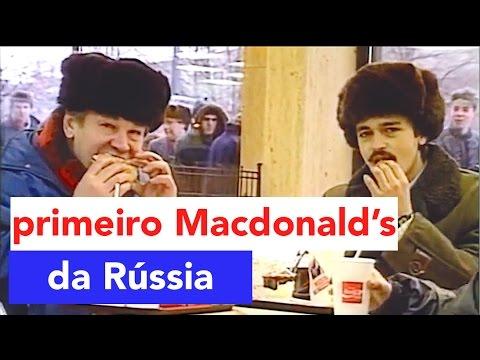 Como é o McDonald's da Rússia? Rússia - Ep. 09