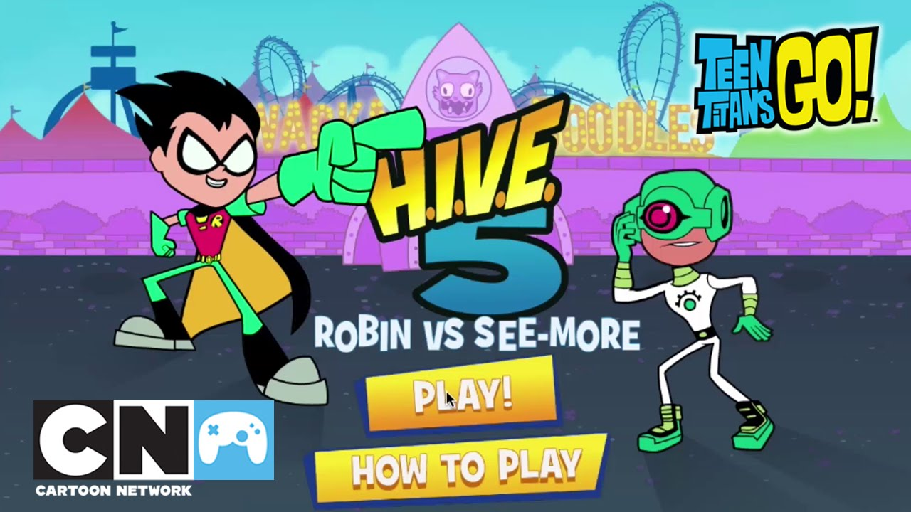 Robin Vs See More Jogos Teen Titans Go Cartoon Network Youtube