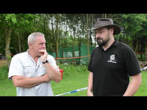 Short Interview with Tracking Expert - Perry McGee @ The Bushcraft Show 2017