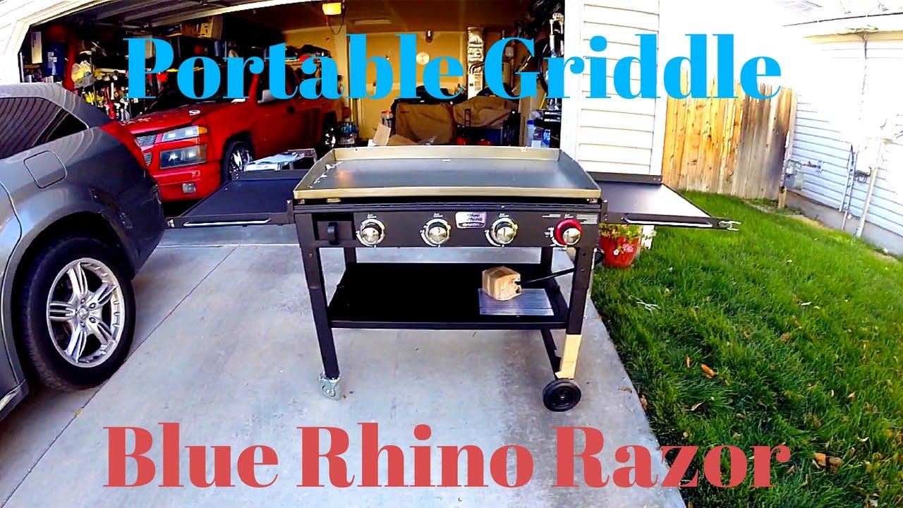 Blue Rhino Near Me >> Blue Rhino Razor Griddle Unboxing And Setup