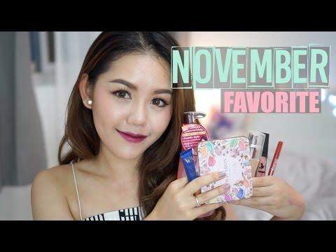 November Favorites 2015 ใช้แล้วชอบ (มาก) ประจำเดือนพฤศจิกายน   Wonderpeach