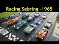 1965 Classic Car Digital Slot Car League Race 1   Sebring USA 2018