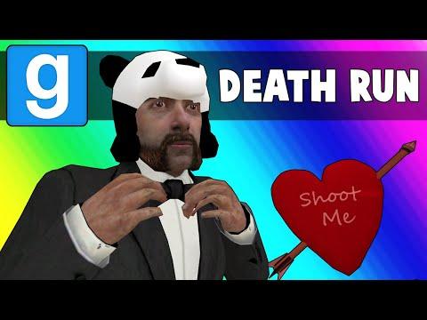 Gmod Death Run Funny Moments - Panda's Hot Valentines Date! (Garry's Mod)