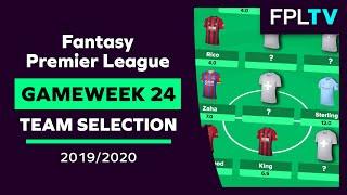 Team Selection & Transfers | FPL DOUBLE GAMEWEEK 24 | Fantasy Premier League