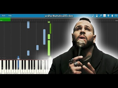 Zombie- bad wolves(piano tutorial)