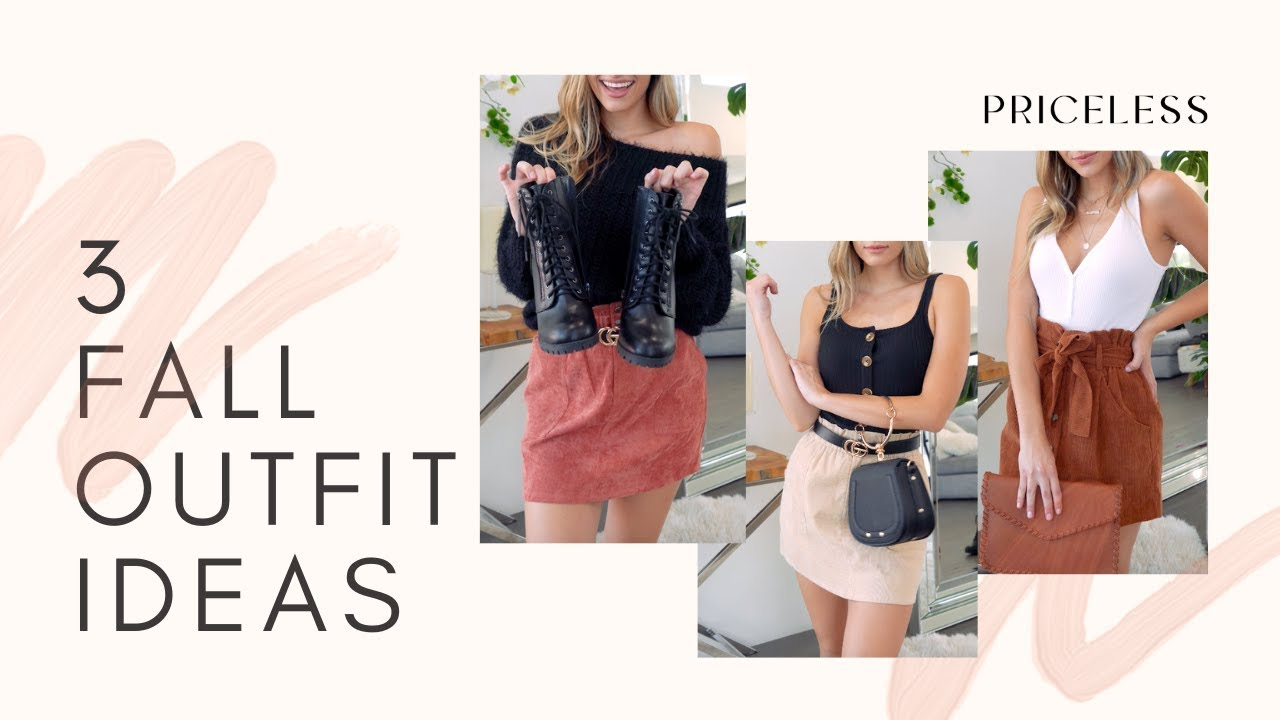 [VIDEO] - 3 SIMPLE FALL OUTFITS YOU NEED ASAP 4