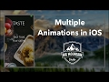 How to Create Animation Chains - UIView.animate (iOS, Xcode 8, Swift 3)
